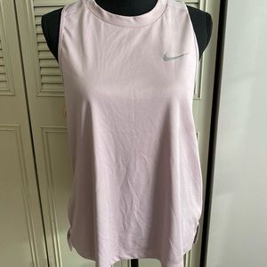 Nike Dryfit active wear blush tank